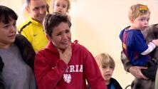 ¡Le sacaron lágrimas! Mágico encuentro de Messi y Luis Suárez con un niño