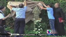 En los jardines del Vaticano la Vírgen de la Caridad del Cobre