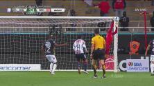 Hugo González le arrebató un golazo a 'Chofis'