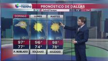 Se prevén cielos nublados y temperaturas cálidas para este domingo en Dallas