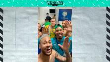 Así celebraron los jugadores de Brasil el pase a la Final