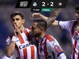 Atlético de San Luis en el último minuto rescata empate ante el Puebla en el Cuauhtémoc