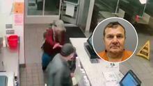 Capturan a hombre acusado de apuñalar a empleado de Jack in the Box que le pedía usar mascarilla