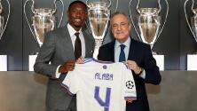 David Alaba hereda el '4' de Ramos en el Real Madrid