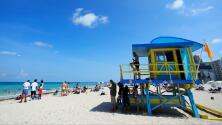 Nuevas restricciones en playas y bares de Florida ante el acelerado crecimiento de contagios por coronavirus