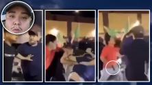 Queda captado en video el momento en el que disparan y matan a Christopher Torrijos durante una pelea