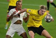 Con par de goles de Haaland, Borussia Dortmund derrota al Sevilla