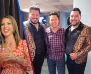 Vocalistas de Banda MS y Gustavo Ángel de Temerarios, sorprenden cantando juntos