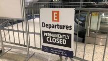 Cierran terminal E del Aeropuerto George Bush para construir una nueva