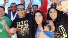 Afición mexicana se adueñó del AT&T Center de Dallas para apoyar a Canelo
