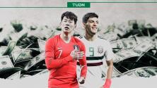 México es más valioso, pero Corea del Sur tiene al jugador más caro