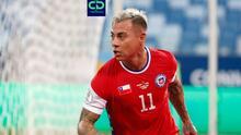 Eduardo Vargas no pudo ampliar su racha goleadora ante Paraguay