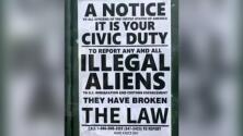 Unos carteles que incitan a denunciar a indocumentados causan preocupación en Nueva York