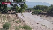 Continúa la búsqueda de una niña de 4 años que fue arrastrada por la corriente en Arizona