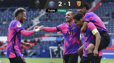 PSG derrota al Lens y  toma momentáneamente el liderato