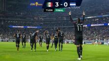 México brilló contra Honduras y por 3-0 pasó a Semifinales de Copa Oro