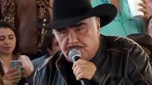 Desmienten que Vicente Fernández será trasladado a Houston para su recuperación