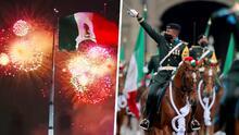 Fuegos artificiales, desfile militar y más en la celebración del Grito de Independencia en México