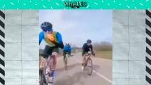 El ciclista más torpe de la semana
