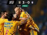 Tigres gana, gusta y golea a un Pachuca errático... sigue América