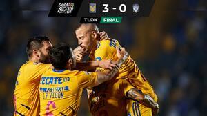 ¡Aguas América! Tigres gana, gusta y golea ante Pachuca