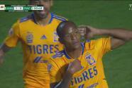 ¡Gol de Tigres! Luis Quiñones cierra la pinza y pone el 1-0