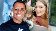 'Chicharito' Hernández se deja ver en la fiesta de cumpleaños número 2 de su hijo Noah