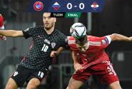 Rusia y Croacia se anularon en un punto que sabe a muy poco