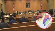Corte de comisionados del condado Harris evalúa diferentes propuestas para la redistribución de distritos judiciales