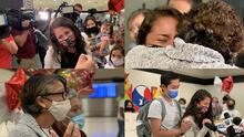 Así fue el emotivo regreso de Karumi Reyes a EEUU tras el castigo que le impuso inmigración