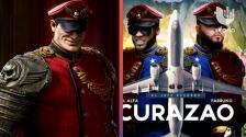 """""""Deberías despedir a alguien y pagarme a mi"""": Acusan a El Alfa y Farruko de plagiar el arte gráfico del sencillo 'Curazao'"""