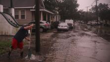 Varios muertos, millones sin electricidad: las imágenes de destrucción que dejó Zeta a su paso por Louisiana