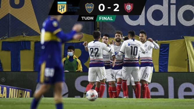 Resumen y goles | San Lorenzo sorprendió al juvenil Boca Juniors