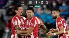 Getafe, con Macías, por fin le marcó al Atlético pero no pudo evitar la derrota