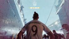 """¡MLZlatan! El 'león sueco' se queda con L.A. Galaxy para terminar """"asuntos pendientes"""" en 2019"""