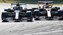 """Tensión entre Verstappen y Hamilton: """"Estúpido, idiota"""""""