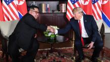 Estas fueron las primeras palabras entre Donald Trump y Kim Jong Un