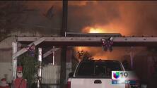 Un incendio en una casa móvil deja a una niña con quemaduras serias