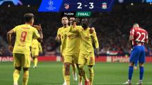 Resumen | Sin Héctor Herrera, Atlético de Madrid cae ante Liverpool