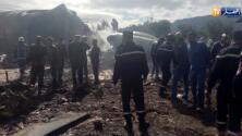 Mueren más de 250 personas en accidente aéreo argelino
