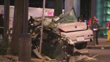 Cuerpos desmembrados y sangre en la vía, la dantesca escena que provocó un accidente de tráfico en México