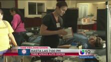 Acércate a la sede en Modesto y dona sangre