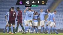 Y van por el récord... Manchester City suma 21 victorias al hilo