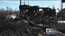 Incendio en Courtland deja a familia hispana en el desamparo