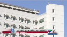 UC Davis atenderá pacientes con Ébola