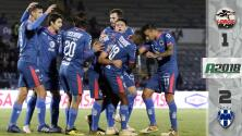 Lobos BUAP 1-2 Monterrey - RESUMEN Y GOLES - Jornada 7 del Apertura 2018 de la Liga MX