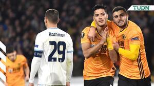 ¡Los goles no paran! Raúl Jiménez anota de nuevo en Europa League