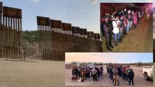 Continúa la entrega masiva de indocumentados en la frontera de Arizona