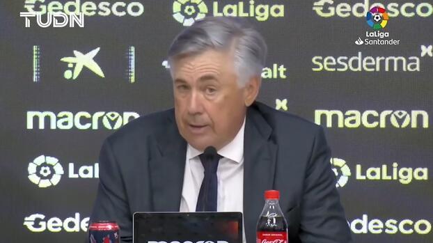 Ancelotti: En la segunda parte no entramos con buena actitud