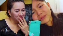 Lágrimas, dolor y desesperación es lo que vive esta madre separada de su familia por un perdón negado en EEUU